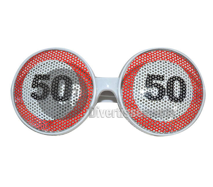 lunettes gag grille 50 ANS