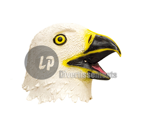 masque latex aigle