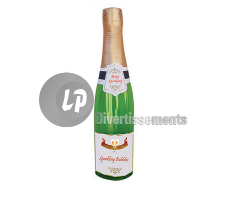bouteille champagne gonflable 75cm