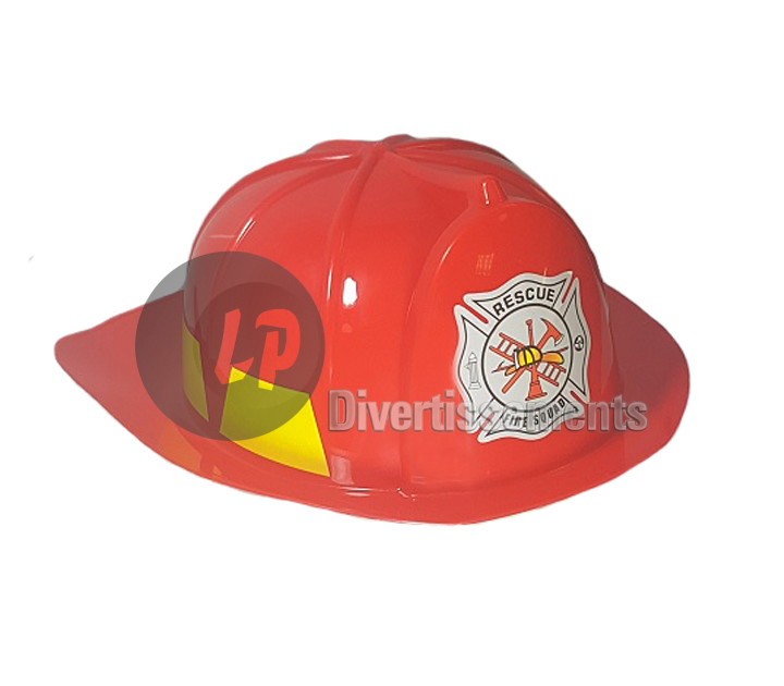 casque de pompier Fire Chief ROUGE