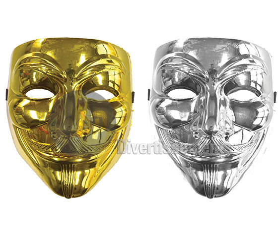 masque anonyme brillant MIX