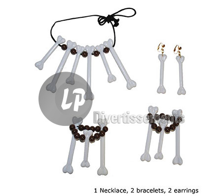 set de bijoux de cannibale 5pcs