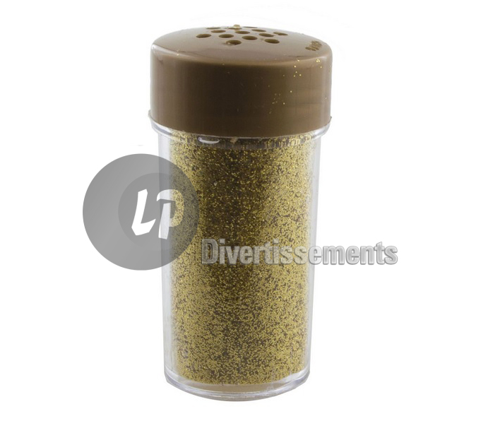 pot de paillettes OR 16gr