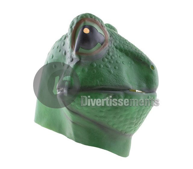 masque latex grenouille