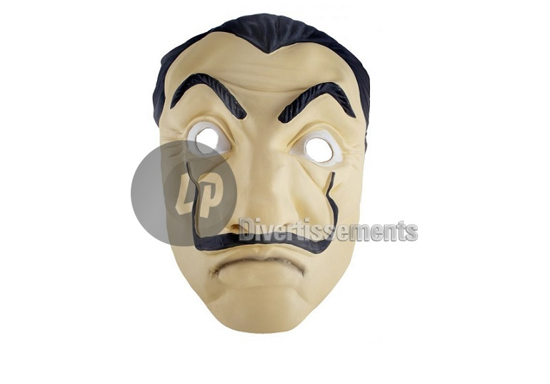 masque en latex Dali