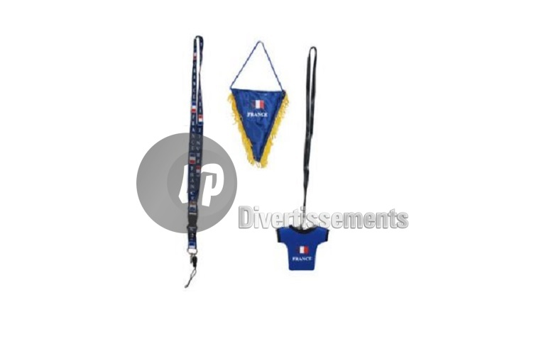 set supporter France 3pcs