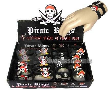 bracelet gel de pirate MIX