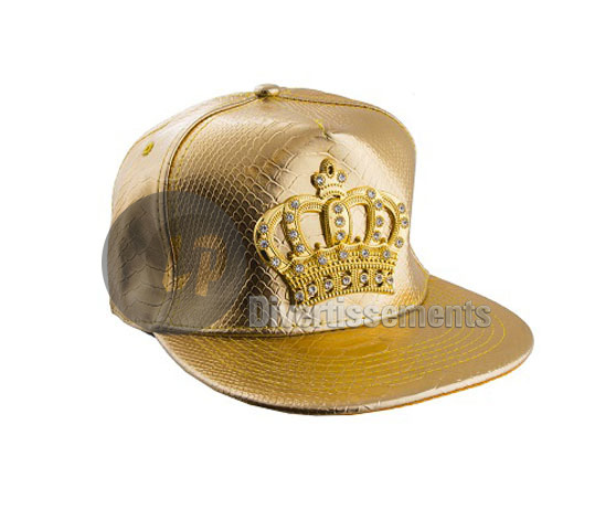 le dernier 4a3c6 65215 casquette de baseball couronne OR