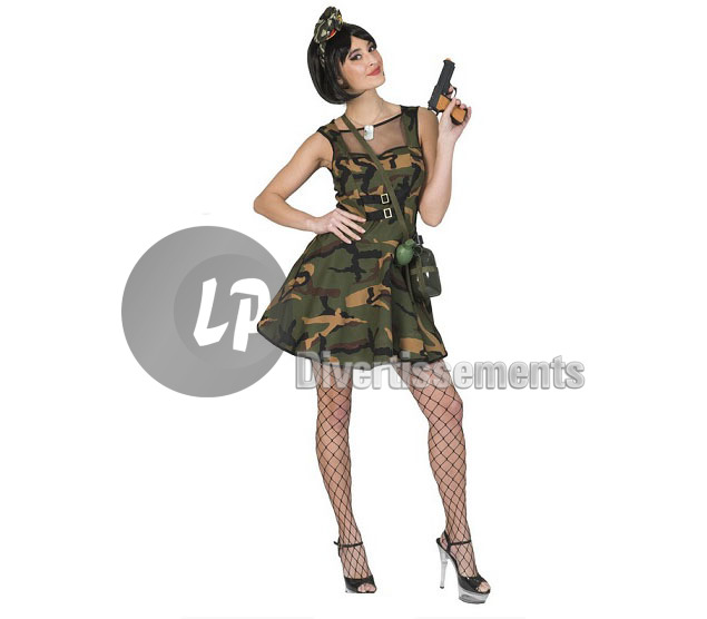 jupe camouflage army femme Taille XL