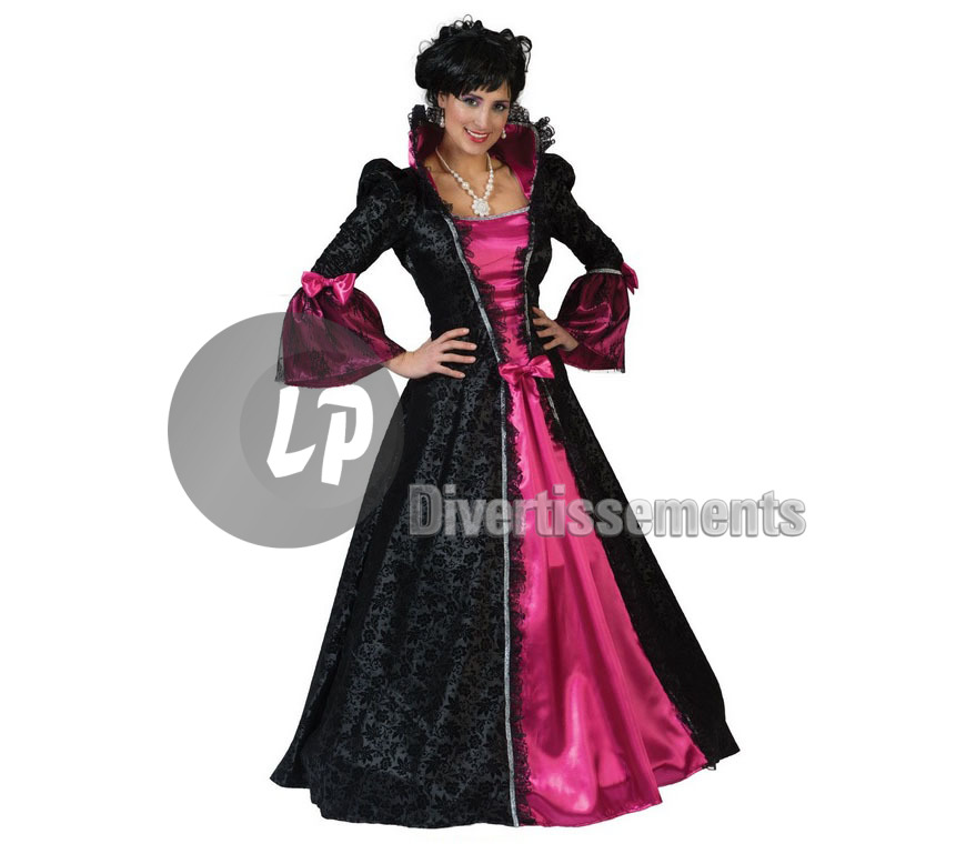 robe BAROQUE Victoria ROSE femme Taille S/M