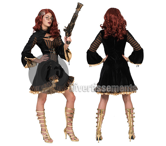 déguisement steampunk Sally femme Taille L