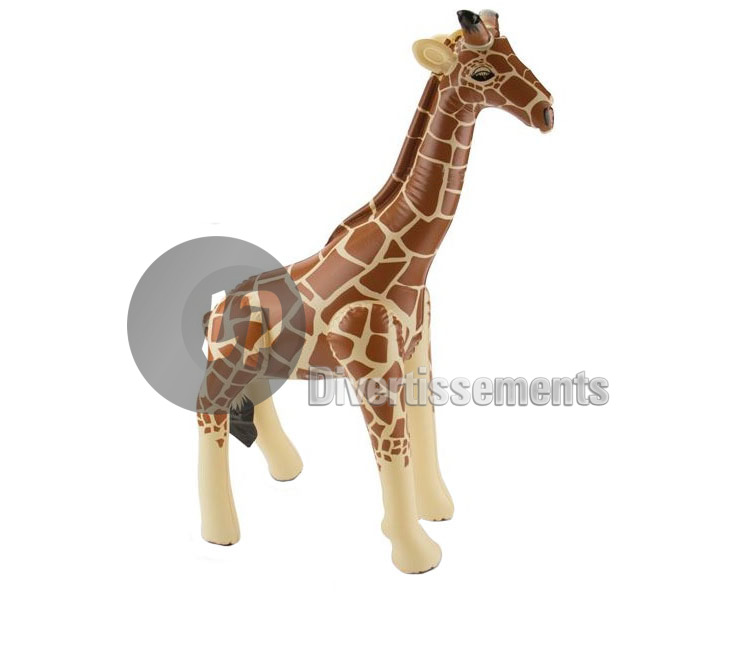 girafe gonflable 74cm