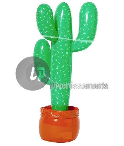 cactus gonflable 85cm