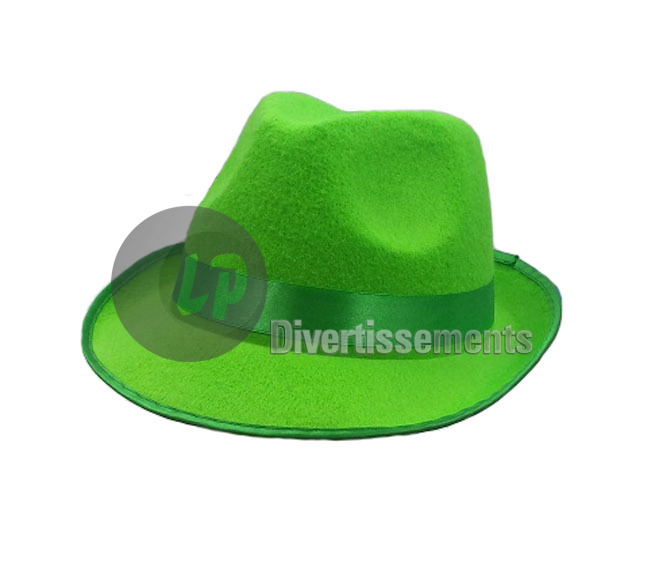 chapeau tribly VERT NEON