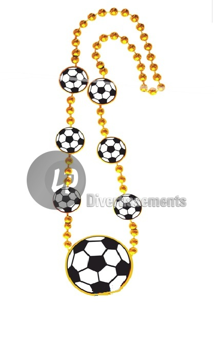 collier ballons de football