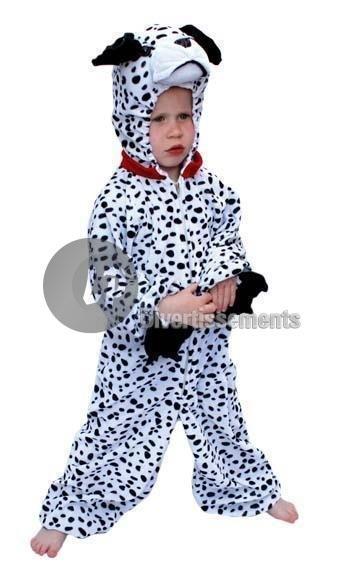 Dalmatiner-Kostüm<br>Kind Größe 104cm