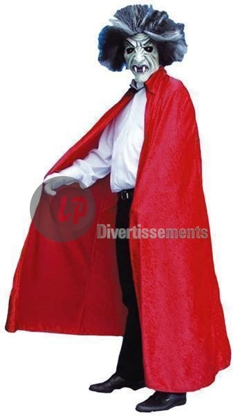 cape velour rouge