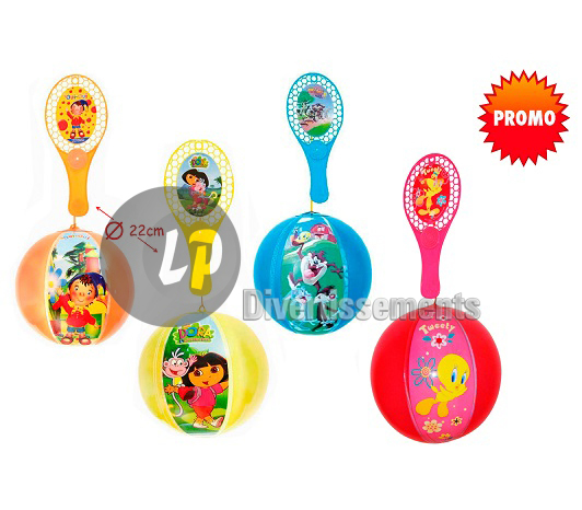 tap ball licence avec ballon gonflable MIX 22cm