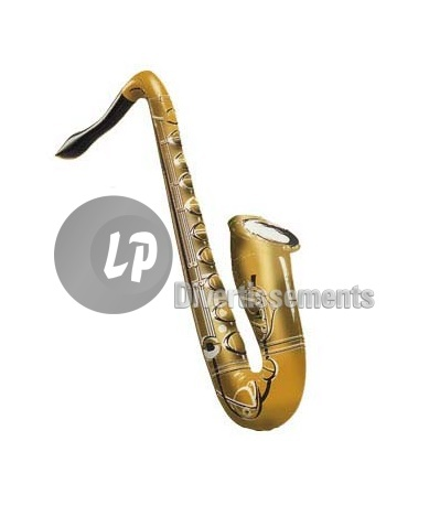 saxophone gonflable 55cm OR