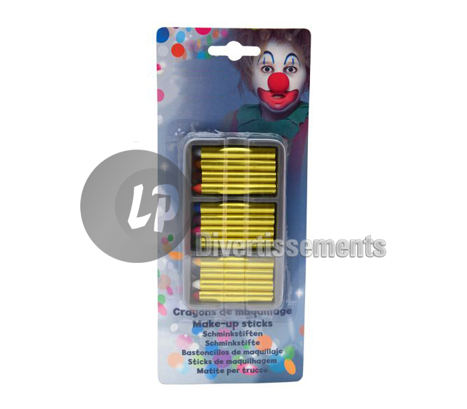 blister 12 crayons de maquillage new