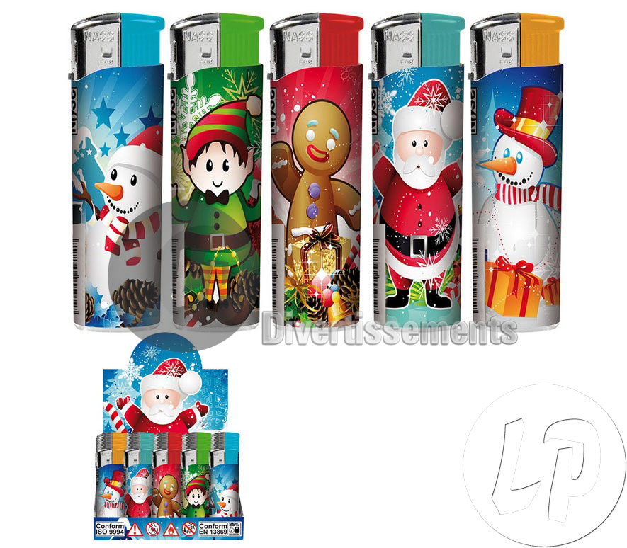 lot de 50x briquet de Noël