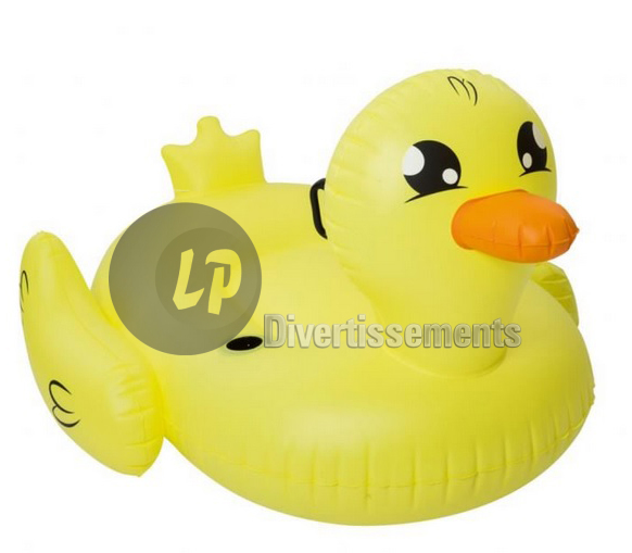 canard gonflable chevauchable 135x91cm