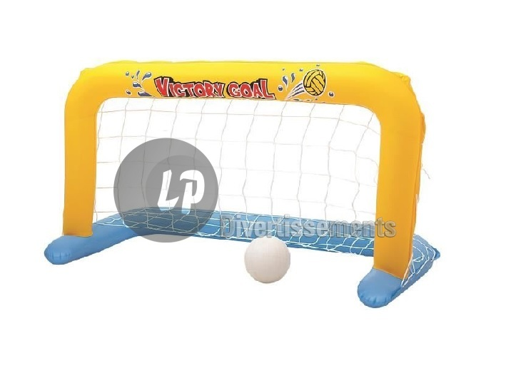 cage Water Polo gonflable avec 1 ballon 137x64x76cm