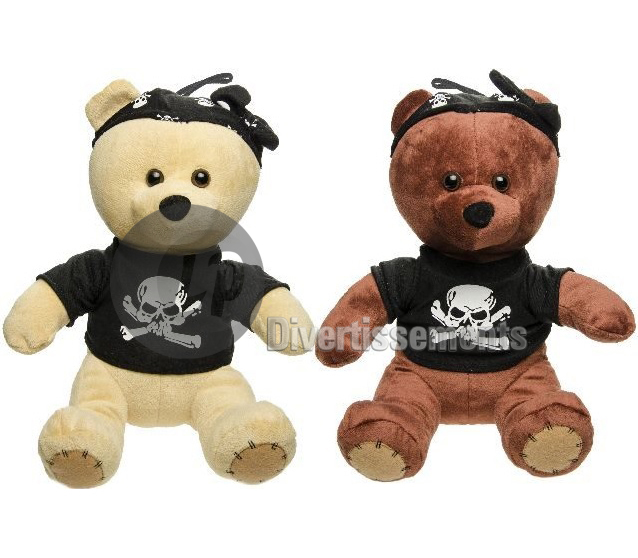 peluche ours pirate MIX