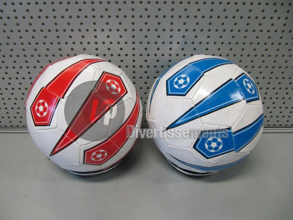 football faux leather red / blue