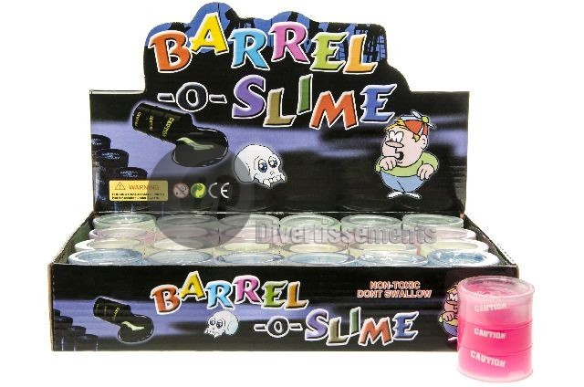 pâte Slime baril MIX 45gr