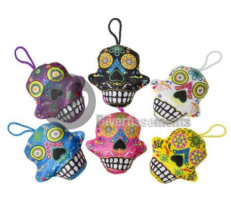 peluche crane Day of the dead MIX 15cm