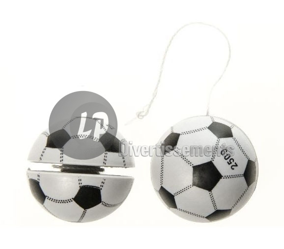 yoyo motif Ballon de FOOTBALL 4cm