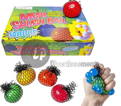 balle Quetschball color change MIX 6.5cm