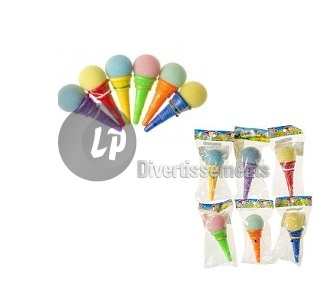 "bilboquet ""Ice Cream"" glace MIX 12cm"