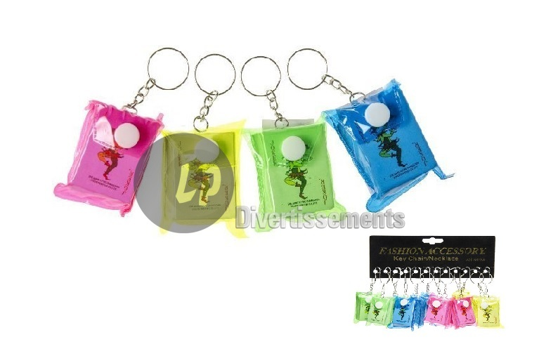 porte-clefs jeu de 54 cartes mini MIX