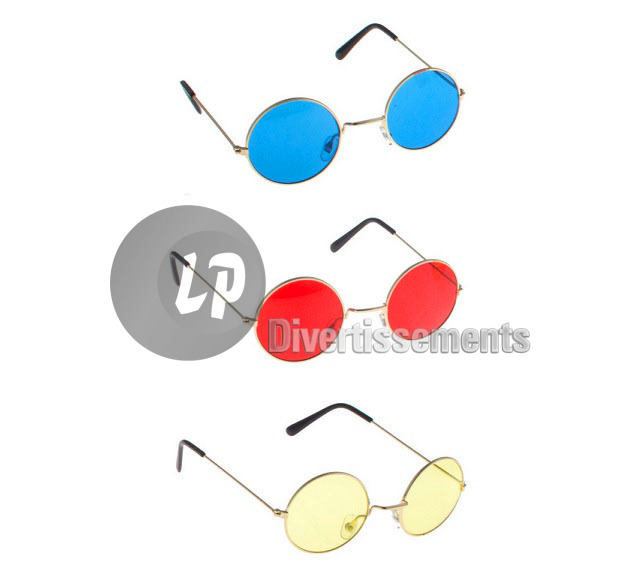 lunettes baba cool rondes MIX