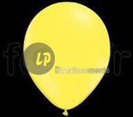 lot de 5 ballons LED lumineux JAUNE