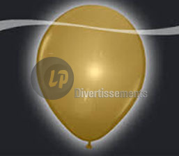 lot de 5 ballons LED lumineux OR