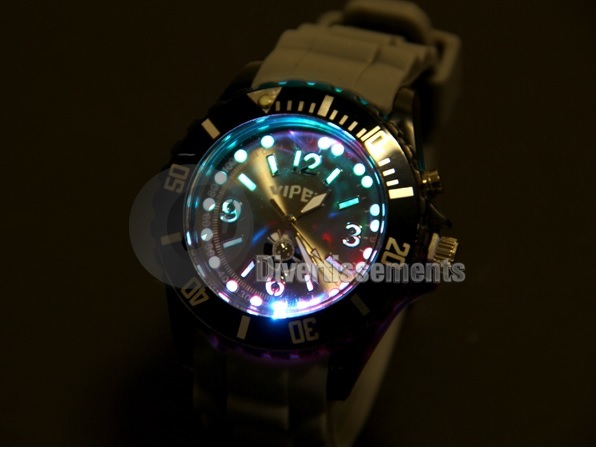 watch silicone gel<br>light gray ur138