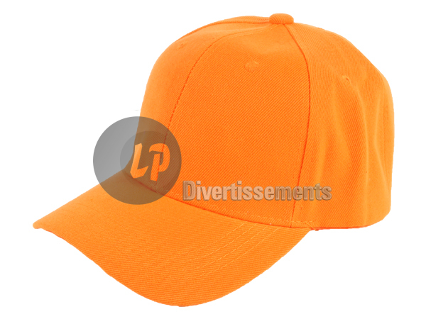 casquette mode ORANGE