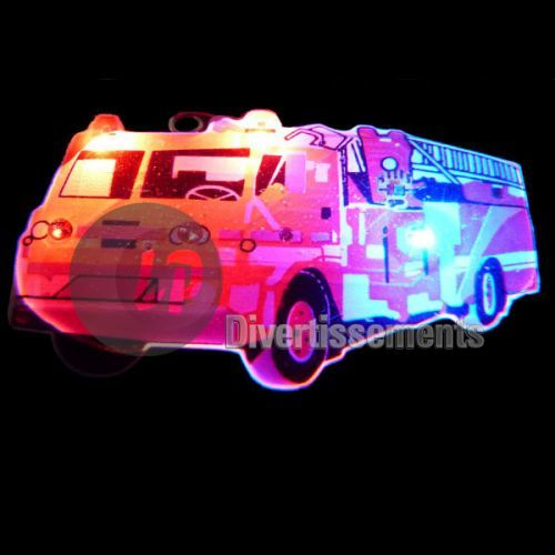 badge LED camion de pompier
