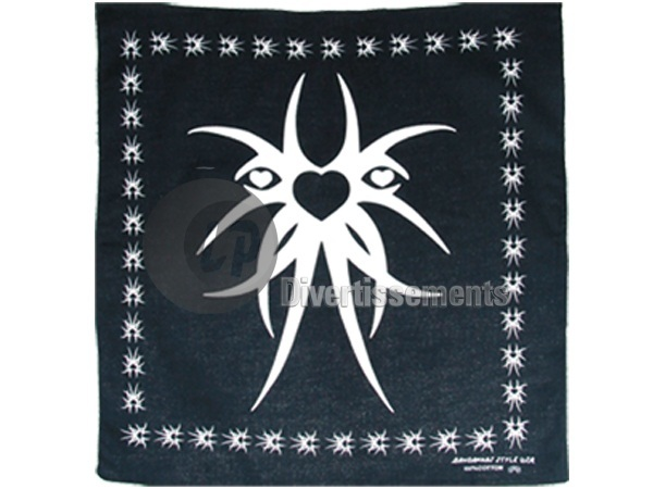bandana tribal N&B