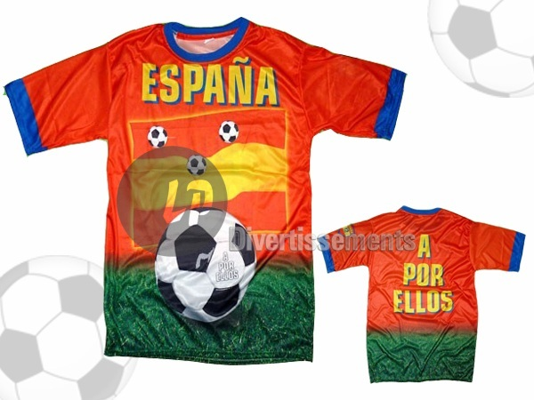 maillot Espagne taille XL