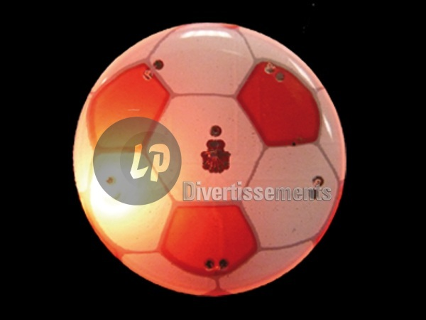 badge/magnet LED football