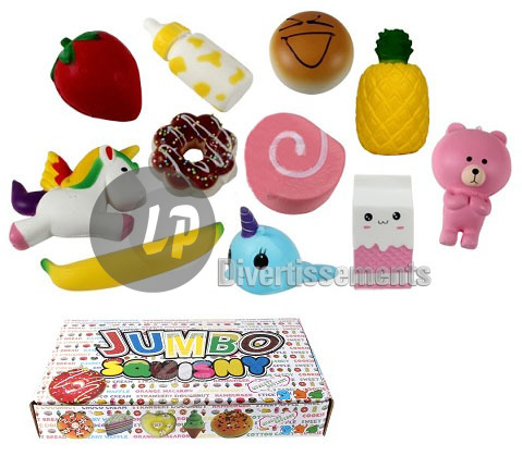 figurines anti-stress Squishy MIX I