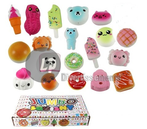 figurines anti-stress Squishy MIX II