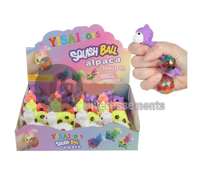anti stress Squishy Quetschball LAMA MIX 6cm