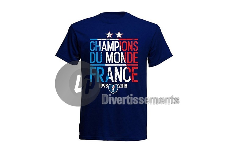 "maillot France ""champions du monde"" Taille M"