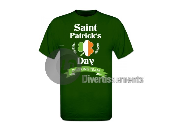 "maillot ""Saint Patrick day"" Taille XXL"