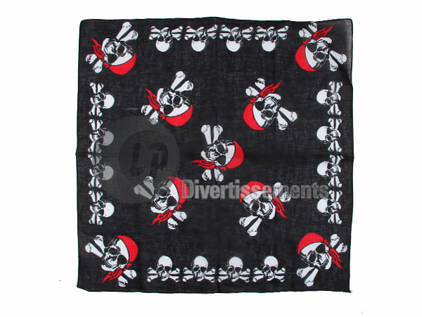 bandana multipirates bandana rouge